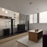 Phân vùng không gian nội thất thông minh cho căn hộ