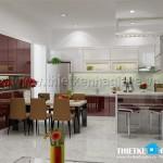 Mẫu thiết kế nội thất hiện đại – NT 04