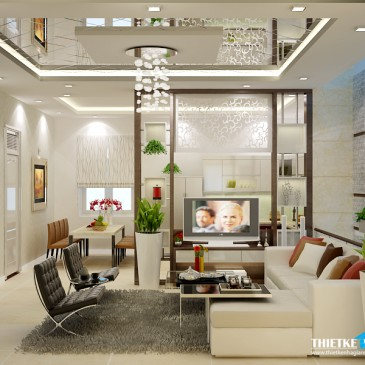 Mẫu thiết kế nội thất hiện đại – NT 01